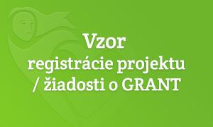 Vzor registrácie
