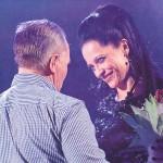 Dušan Gaži a Lucie Bílá, ktorá je jedným z najväčších podporovateľov charitatívneho behu
