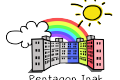 logo pentagon inak