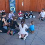 Deti sa učili bubnovať