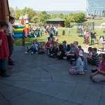 Deti si mohli pozrieť bábkové divadlo