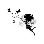 41997390-fairy-silhouette